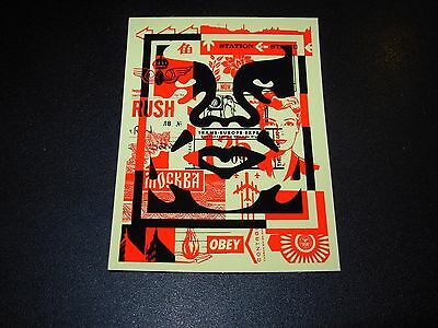 SHEPARD FAIREY Obey Giant Sticker 3X4 ANDRE OG Mosaic middle from poster print