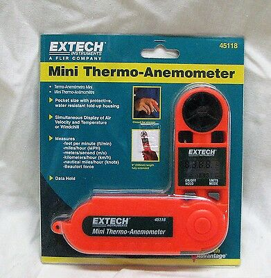 EXTECH Mini Thermo-Anemometer