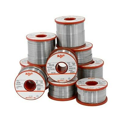 60/40 250G 0.91Mm Solder 60% Tin 40% Lead - Multicore