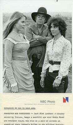 Debra Feuer Jack Elam Kathleen Lloyd Lacy And The Mississippi Queen Nbc Tv Photo