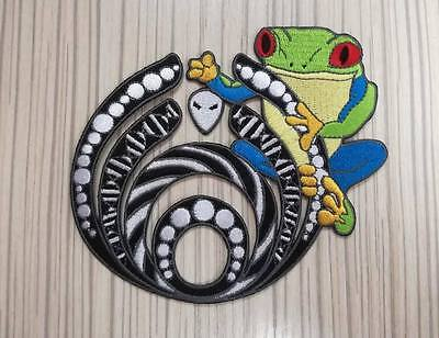 BASSNECTAR FROG PATCH-not getter,datsik,sts9,eoto,pin,rave,borgore,snails,mija