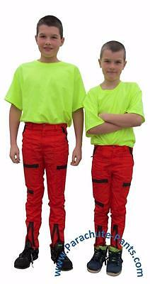 Classic Countdown Kids Boys Girls Parachute Pants 80s Nylon Wet Look Bottoms NEW