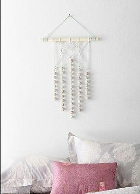 Urban Outfitters Magical Thinking Macrame Pebble Wall Hanging Sold Out