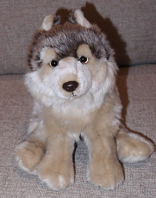 Webkinz Signature Timber Wolf Stuffed Animal Plush Only - still soft & shiny