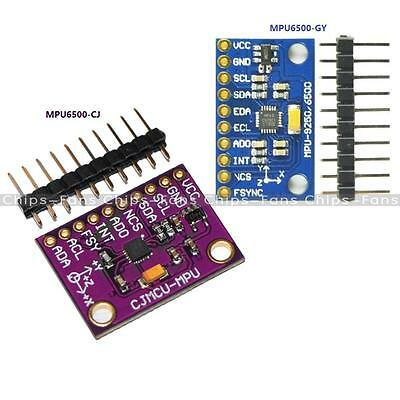New SPI/IIC MPU6500 6 Axis Gyro Accel Sensor Module Replace MPU6000 for Arduino