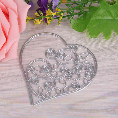 Heart Shape Cutting Dies Stencil for DIY Scrapbooking Album Paper Diary Cards