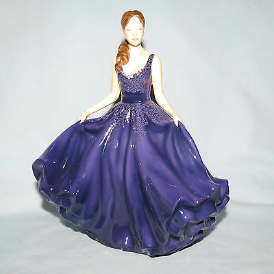 Royal Doulton Heather Figurine Hn5693 In Box What A Great Colour