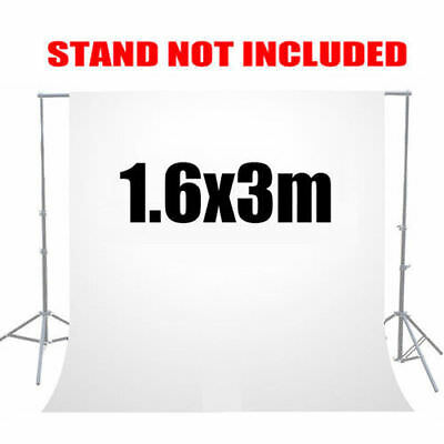 Photography Studio Background 6x9ft Muslin Cotton Non-woven White Backdrop US