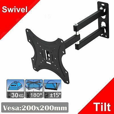 Tilting Plasma TV Wall Mount Bracket LCD LED 3D 32 37 40 42 46 48 50 55 60 70 75