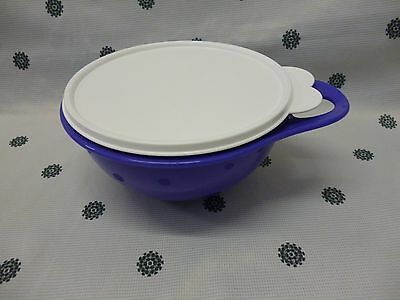 Tupperware Thats a Bowl Mini 1.4L Purple with White Seal New