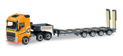 Herpa HO 1/87 scale Volvo FH16 w/Goldhofer 4 axle Float