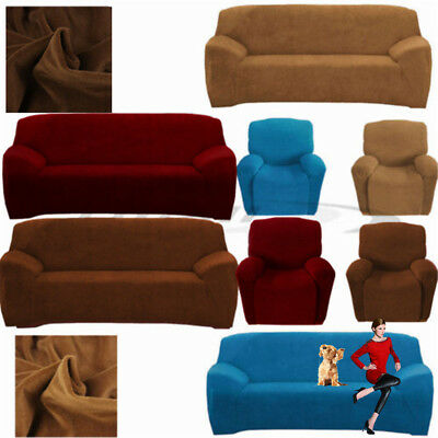 EASY Stretch Couch Sofa Lounge Covers Recliner=1/ 2 3 Seater Dining Chair Cover