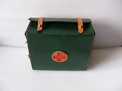 RARE Vintage OLD USSR Soviet Russian MILITARY ARMY MEDIC FIRST AID BAG CASE
