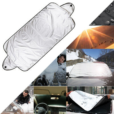 Universal Car Van Windscreen Frost Cover Protector Screen Snow Winter Protection