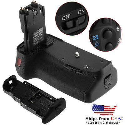 New BG-E9 Battery Grip Holder For Canon EOS 60D DSLR Camera as LP-E6+IR Romote