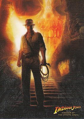 Indiana Jones Kingdom Crystal Skull TC Set (90 Cards)