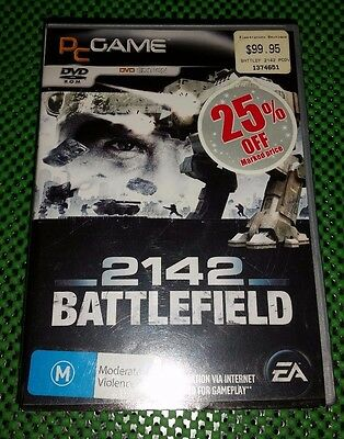 2142 Battlefield PC DVD ROM Game In Excellent Condition