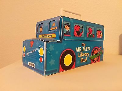 Mr Men Complete Collection Library Bus With Bonus Limited Edition Book