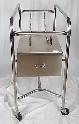 Stainless Steel Baby Bassinet Cart