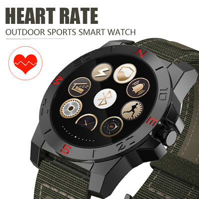 Fashion Men N10 Heart Rate Monitor Smart Bluetooth Watch For Android iPhone IOS