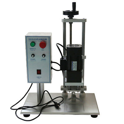 DDX450 Desktop Electric Round Bottle Screw Capping Machine 110V 10mm To 50mm