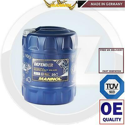 20 Litre 10W40 MANNOL Defender 10W40 Semi-Synthetic Engine Oil 20L GERMAN BRAND
