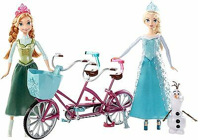 Disney Frozen Anna and Elsa's Musical Bicycle Playset Brand New