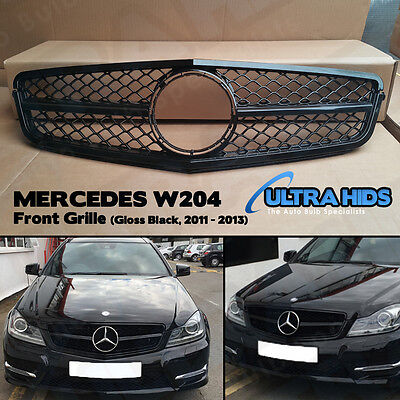 XB Grille For Mercedes Benz W204 C Class Coupe C180 C220 C250 C350 2011 - 2013