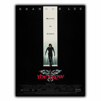 THE CROW METAL SIGN WALL PLAQUE Film Movie Advert poster print mancave decor