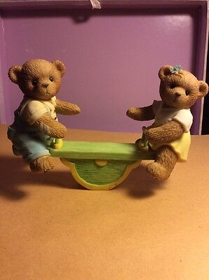"Cherished Teddies "" Jimmie And Joanne"" 2007 Symbol Of Membership Released 2007"
