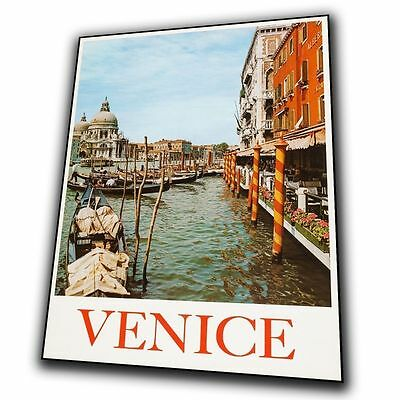 VENICE ITALY Vintage Retro Travel Advert SIGN METAL PLAQUE art print poster