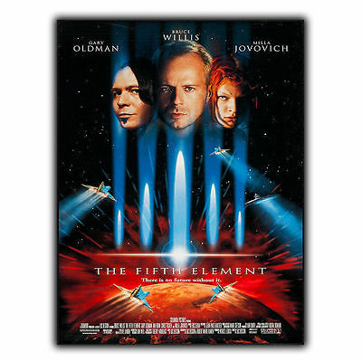 THE FIFTH ELEMENT METAL SIGN PLAQUE Retro Film Movie Advert poster print decor