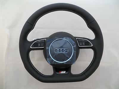 Audi S-Line BRAND NEW Steering wheel with Airbag S5 A5 RS5 Q5 DSG flat bottom