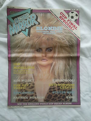 Blondie-Original Front Page Pic Of Debbie-Record Mirror