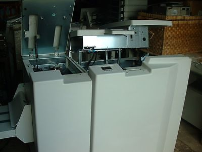 Due To In Plant Closure A3 Plockmatic Bk5010E Bookletmaker With Tr5010E Trimmer