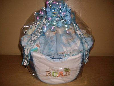 "Baby Boy Gift "" Take Me Home "" Baby Shower Gift Basket"