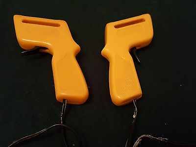 2 Vintage Aurora Afx  Yellow Slot Car Racing Speed Controllers