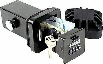 Hitch Vault Safe Set Change Combination Convert Truck Receiver Magnetic Key Hold