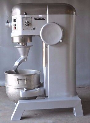 Used Hobart H-600 60 Qt Commercial Mixer, Excellent Working Condition, Free Ship