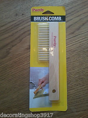 Purdy Paint Brush Cleaning Comb