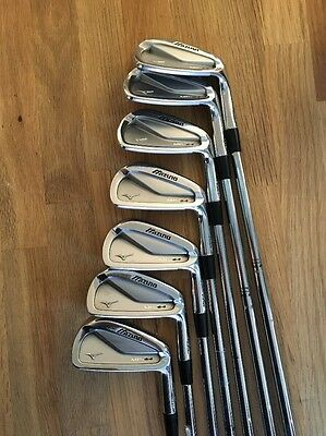 Stunning Set of Mizuno MP64 Irons, 4-PW, X Flex Steel Shafts
