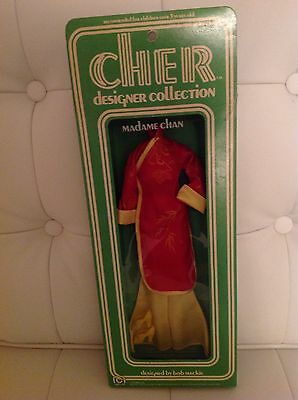 Vintage 1976 Mego Sonny And & CHER Original MADAME CHAN Doll Costume In Box MIB