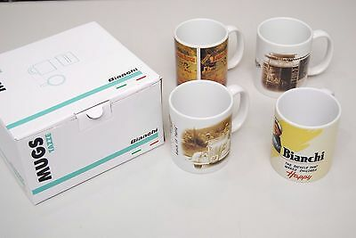 Set 4 Tazze Latte Bianchi Heritage Collection MUG/SET 4 MUG BIANCHI COLLECTION H