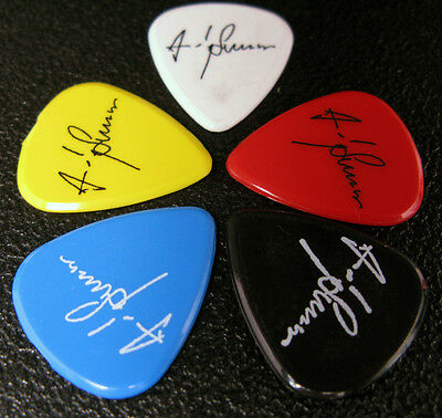 Police Guitar Pick (S) Set Of 5 Andy Summers Sting Stewart Copeland