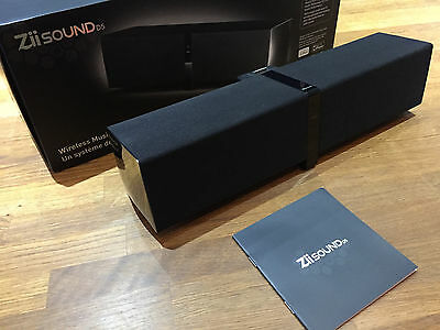 Creative ZiiSound D5 Bluetooth Wireless Speaker with iPhone and iPod Dock