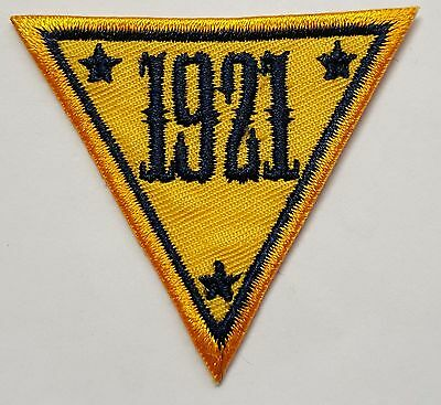 NJSP New Jersey State Police 1921 Triangle Cloth Patch 2""