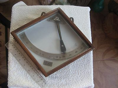 vintage inclinometer, 1940, the Soviet Union, a submarine or a ship,