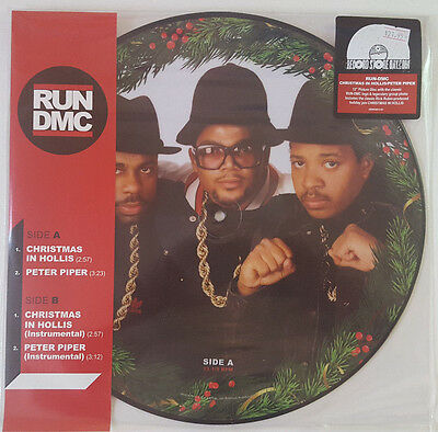 e3b451015c5d RUN DMC Christmas In Hollis RSD picture disc NEW limited edition Peter Piper