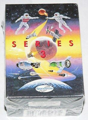 Space Shots Series 3 110 card boxed & sealed factory set