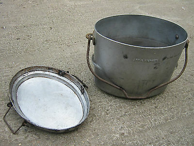 Army  Cookpot. Field Kitchen. with lid. No. 5 cookset